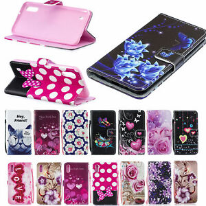 PU Leather Skin Card Slot Wallet Case Cover for iPhone 8 7 Plus Samsung Note 10
