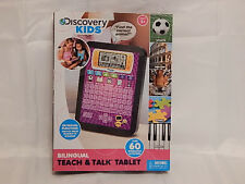 Discovery Kids Teach & Talk Tablet - PINK - Bilingual English & Spanish Complete