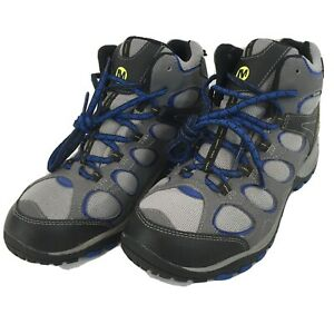 Merrell Hilltop Vntltr Mid W Mens 6.5 Leather Upper Hiking Boots Shoes