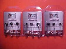 3 PACKS Gamakatsu G.S. 1/4 oz Round BLACK Shakey Head JIGS -New Screw Lock