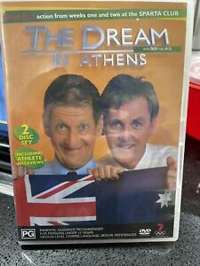The Dream in Athens - DVD - Comedy - Olympics - Roy and HG - Region 4 Rare
