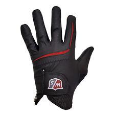 Wilson Mens Grip Plus Golf Gloves - Black X-large