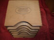 Kingsley Hot Foil Stamping Machine - Wooden Type Cabinet 5 - Slots 1 - Drawer