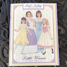1999 Paper Dolls Peck Aubry Little Women Cutouts Complete Unused