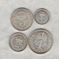 More details for 1932 george v maundy set of four coins in near mint condition