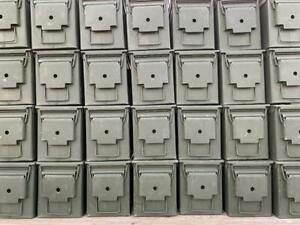 US Military Surplus 50 Cal. Size Ammo Cans Ammunition Box Case Storage