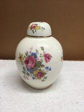 Vintage Anjou Floral Design Potpourri Jar/Container