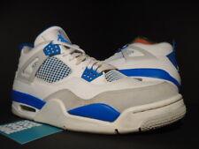 NIKE AIR JORDAN IV 4 RETRO OG WHITE MILITARY BLUE CEMENT COOL GREY 308497-105 10