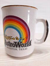 Rare Vintage AstroWorld Houston Texas Amusement Park Souvenir Ceramic Coffee Mug