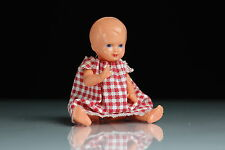 Kleines Zelluloid Püppchen Puppe E.S. West Germany 10,5 cm