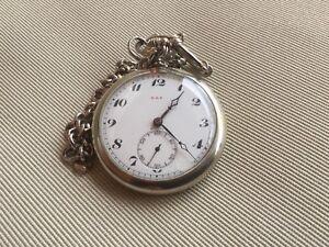Moeris, Grand Prix. Caliber 16B, Pocket Watch