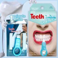 3pcs Pro Nano Teeth Whitening Kit Teeth Cleaning Whitener Brush Tooth Stains Hot