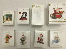 Hallmark Keepsake Ornaments: 2012 Lot of 8