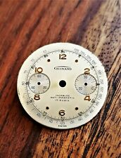 vintage watch GUINAND  DIAL  Valjoux cal. 23