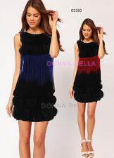 Polyester Shift Above Knee, Mini Striped Dresses for Women