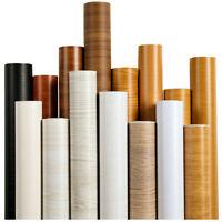 Wood Grain Self-adhesive Wallpapers PVC Waterproof Wall Stickers Furniture Adorn