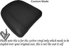 Fibra De Carbono Vinilo Personalizada Para Bmw K 1200 Lt 99-09 respaldo cubierta de asiento
