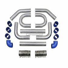 "3"" TOP Aluminum Turbo Intercooler Piping Kit + U Pipe"