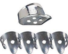 Dunlop 33p.020 de plata de níquel del dedo y selección del pulgar Set.020 5 Selecciones