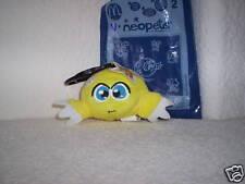 McDonalds Neopets Yellow Kiko Plushie MIB