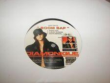 """Diamonique Boom Bap / Get It On 12"""" Single EX Pegasus DIA-909 2004"""