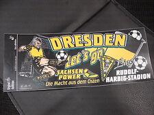 Aufkleber Dynamo Dresden Die Macht aus dem Osten  Rudolf-Harbig-Stadion Fussball