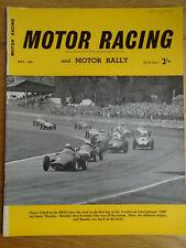 Motor Racing & Motor Rally May 1959, Lotus Elite, Formula 1 Scarab