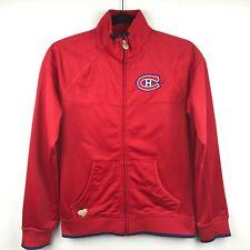Montreal Canadiens NHL Hockey Reebok Full zip women's Pullover sz S