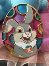 Disney Pin DSf Stained Glass Easter Egg Thumper LE 150 Bambi