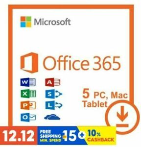 🌟Office365 proplus User ✔️ 5 Devices 5TB PC&Mac