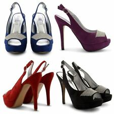 Unbranded Faux Suede Slingbacks for Women