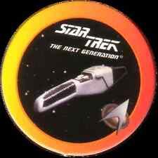 STAR TREK THE NEXT GENERATION, PHASER TYPE-2, STARTDISC POG MILK CAP, # 05
