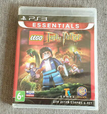 Sony Playstation 3 PS3 Lego Harry Potter Years 5-7 New Russian Ver English Game
