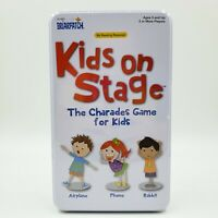 Briarpatch Kids on Stage Charades Game 2-6 Players New Sealed Free Shipping