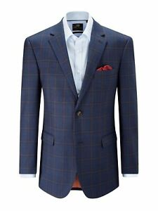 """Skopes Alfred Check Jacket 66"""" Chest"""
