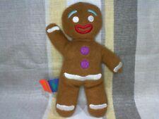 "Gingerbread Man From Shrek the Third 6"" Plush Soft Toy"