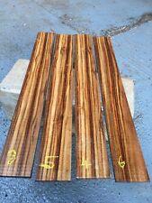 Chechen (Caribbean Rose) Guitar Fingerboard /Exotic Wood / AAA Grade