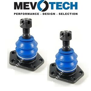 For Chevrolet P30 GMC C25 C35 Pair Set of 2 Front Upper Ball Joints Mevotech