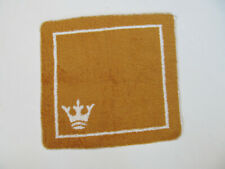 Vintage Martex Wash Cloth Crown Gold White Color G