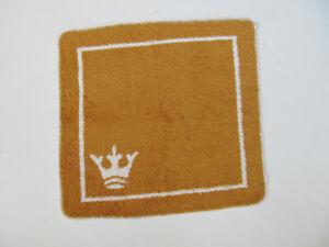 Vintage Martex Wash Cloth Crown Gold White Color Bathroom G