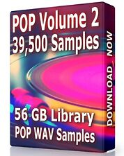 39,500+ POP Samples Loops POP Volume 2 WAV, Ableton, Logic, ProTools, FL Studio