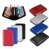 RFID Block Aluminium Holder Security Wallet Bank Card Credit Card Hard Case New