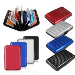RFID Block Aluminium Holder Security Wallet Bank Card Credit Card Hard Hd7s di7