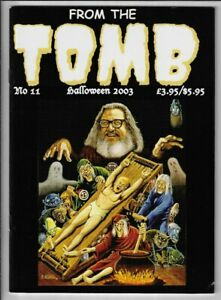 From the Tomb #11 F+ EC Comics Halloween Cover William Gaines