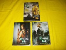 BREAKING BAD THE COMPLETE THIRD SEASON 3 THREE DVD WITH SLIPCOVER