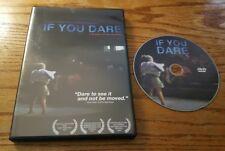 If You Dare (DVD, 2009) Norah Shapiro documentary film inner city theatre RARE