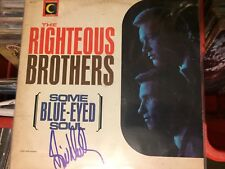 RIGHTEOUS BROTHER Bill Medley hand signed record album autograph Blue Eyed Soul!