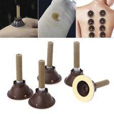 50Pcs Moxa Self-stick Paste Moxibustion Tube Candle Acupuncture Points Massage
