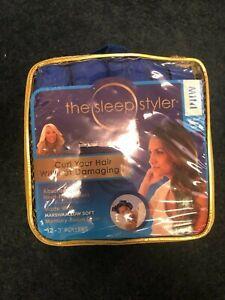 The Sleep Styler Mini heat-free Nighttime Hair Curlers Allstar Innovations
