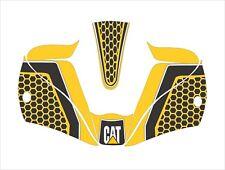 LINCOLN VIKING 2450 3350 WELDING HELMET WRAP DECAL STICKER cat caterpillar y